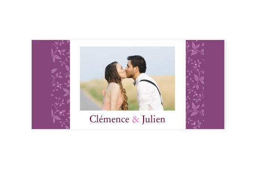 12 Faire-part mariage ´´Callicarpa´´