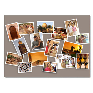 Pêle Mêle photo Créatif. Créez votre pêle-mêle de souvenirs ! - Impression sur papier photo Fuji - Une id&eacute