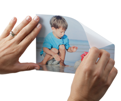 Sticker photo repositionnable