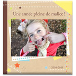 Livre Photo Moderne Carr� XL
