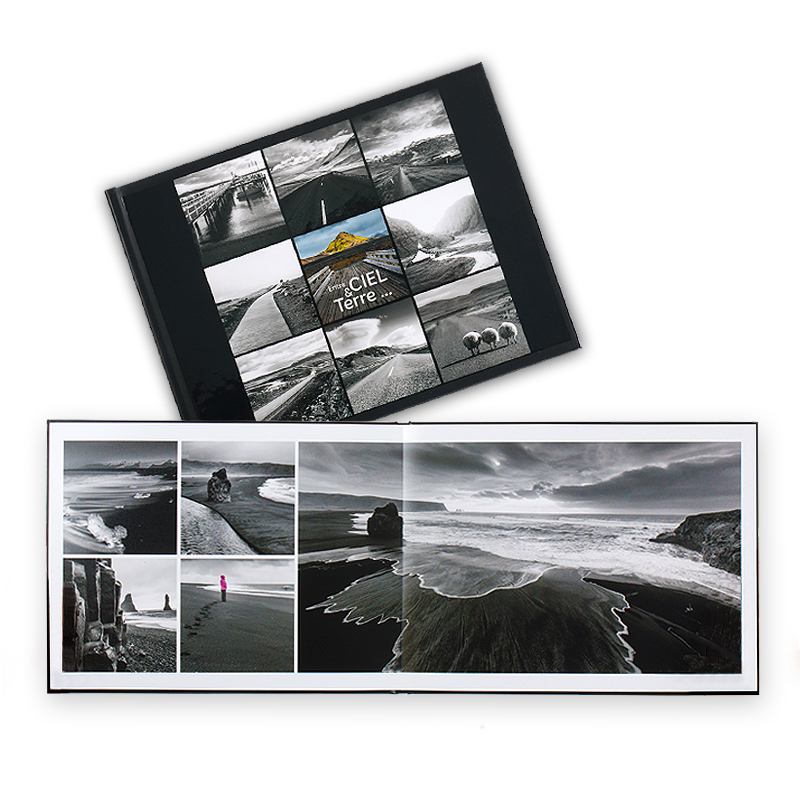 Livre photo Luxe - Format Paysage