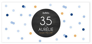 Carte d' anniversaire pop