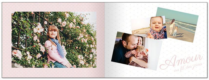 livre photo personnalisé amour