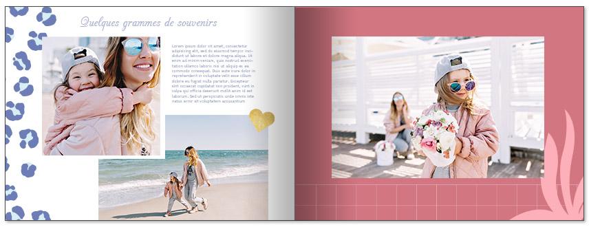 livre photo personnalisé maman et bébé