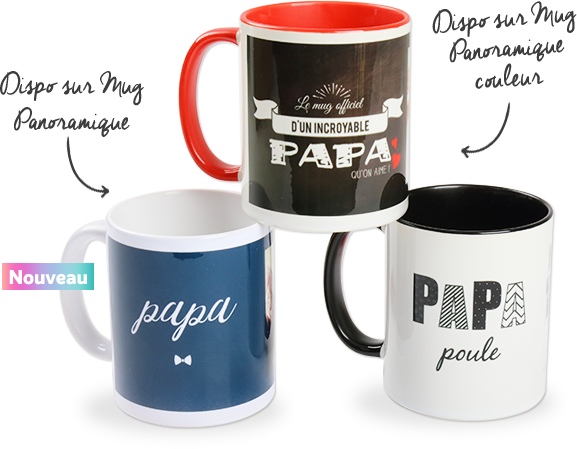 F te des p res 2017 des id es cadeaux pour votre papa - Tasse fete des peres ...