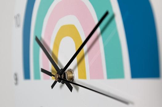 horloge personnalisée pas cher