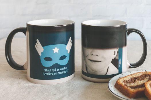 mug magique photo