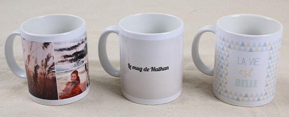 mug photo à personnaliser