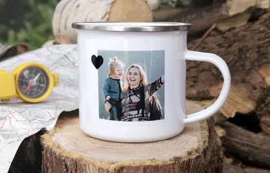 Mug vintage personnalisé