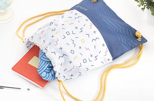 sac cordelettes personnalisé