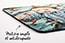 tapis de souris antidérapant