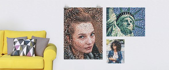 photo mosaique taille