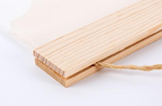 Baguettes bois pour poster à suspendre