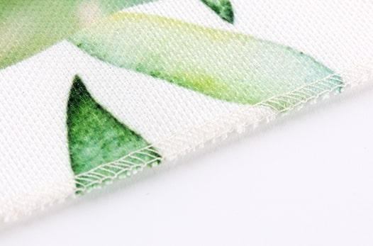 Affiche personnalisée en tissu