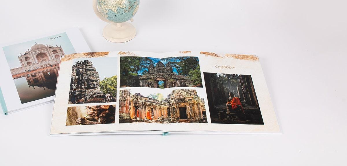 Livre photo grand format ouverture à plat