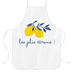 tablier personnalisé citron