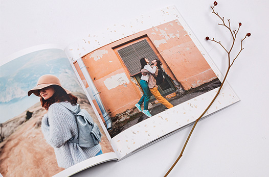 livre photo style carre