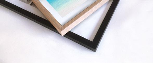 cadre bois cadre noir
