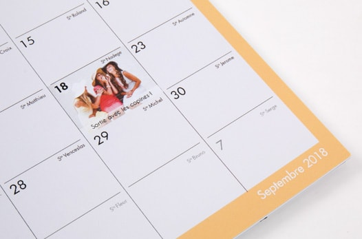 Calendrier A3 Planning