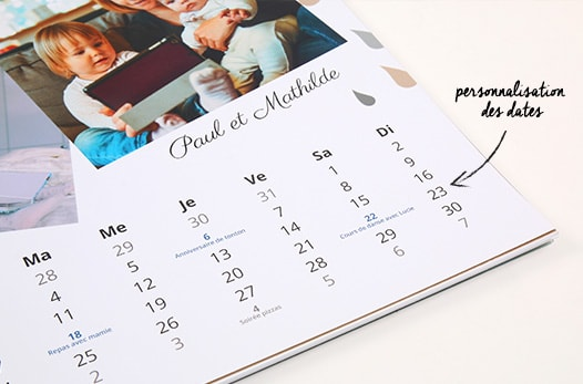 calendriers 2018