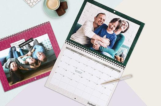 calendriers personnalisé