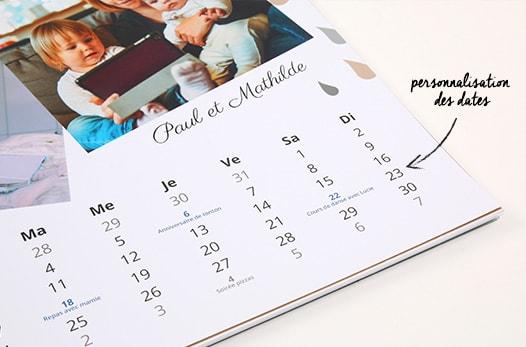 calendrier à imprimer 2019