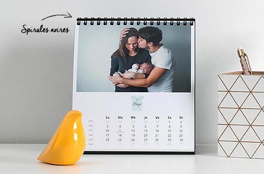 calendriers personnalisé pas cher