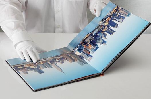 Livre photo luxe carré xl : format 31x31 cm et ouverture à plat