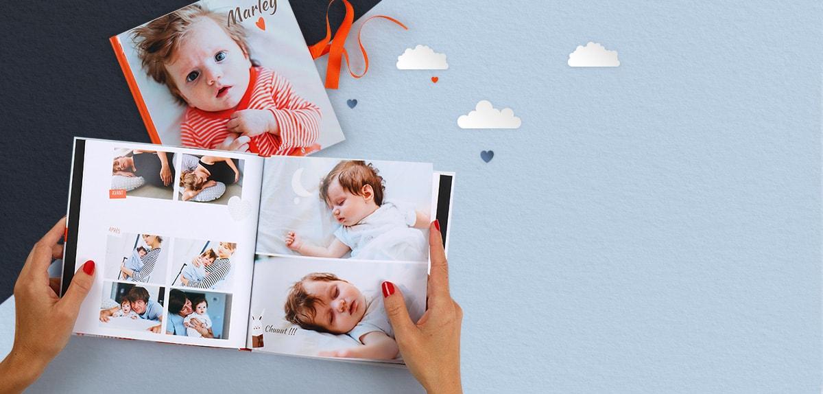 livre de naissance moderne carr cr er un livre de naissance offrir ou pour soi m me. Black Bedroom Furniture Sets. Home Design Ideas