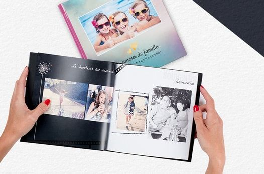 livre photo prestige carre