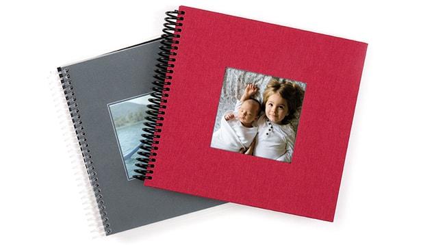 album photo spirale cr ez votre album spirale ou book photo personnalis. Black Bedroom Furniture Sets. Home Design Ideas