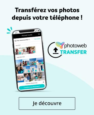 Téléchargez l'app Photoweb Transfer !