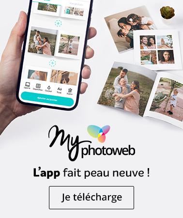 MyPhotoweb l'app fait peau neuve
