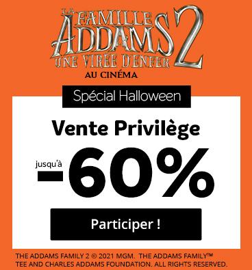 Vente privilège Famille Adams 2